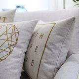 Almohadilla lumbar decorativa de lino del algodón razonable para al aire libre