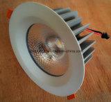 15W 1650lm 85ra 95mmの排気切替器110d 3inch LEDの軽いランプ
