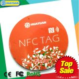 Markering HUAYUAN 13.56MHz ISO18092 NTAG216 NFC RFID voor Slimme Oplossing