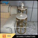 Móveis chineses Gold Metal Flower Pot Stand para casamento