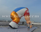 Modello gonfiabile gigante K2097 del fumetto del giocatore di football americano