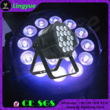 18X18W DJ Professional Stage Luz RGBWA UV LED PAR