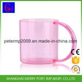 360ml 12oz kundenspezifischer trinkender Plastikbecher mit Griff für Sublimation