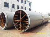 Secador de tambor de fibra de coco de baixa energia para venda