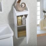 Plein Module en céramique fixé au mur blanc de vanité de salle de bains de partie supérieure du comptoir