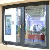 알루미늄 물자 프레임에 의하여 입히는 사려깊은 유리제 Cusomized 여닫이 창 그네 Windows