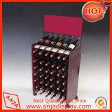 Moda Wine Rack de visualización de la tienda de vinos