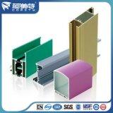 Profilo dell'alluminio del rivestimento della polvere di colore di temperamento T5 di iso 6063