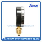 Thermomètre en acier noir-Thermo Manomètre - Indicateur de température de pression