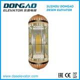 Série redonda da Elevador-Metade do passageiro da observação