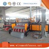 Machine de clôture à chaîne à double fil automatique complète