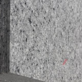 磨かれたの花こう岩のタイルそして平板は、砥石で研がれて炎にあてられて、ブッシュ表面を槌で打った