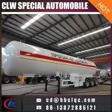 réservoir de remorque de LPG de semi-remorque de camion-citerne de gaz liquide de 49.6m3 21mt à Kyrghyzstan