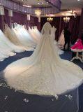 Aolanes próprios vestido lindo da princesa casamento do projeto
