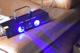 Het Verkopen van China van Guangzhou het Hete Licht van de Laser van DJ van de Laser Lichte Dubbele Hoofd Blauwe