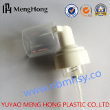 Bomba de sabão de espuma de garrafa de loção plástica para garrafa de cosméticos
