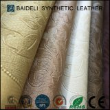 Tela de cuero del sofá del PVC del diseño de la manera
