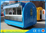 Ys-Bf300c Roomy Burger-Stall-mobile Nahrungsmittelkarren für Verkauf