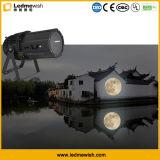 En el exterior LED 150W de gobos Luna luz de efecto para la construcción