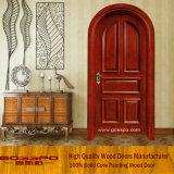 Бортовым дверь двери входа Lite стеклянным сдобренная экстерьером стеклянная деревянная (XS2-036)