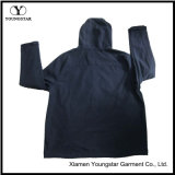 Ys-1071 Mens Blue Polar Fleece Hooded Softshell Jacket Vestuário para Homens