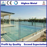 Robinet en acier inoxydable avec bride pour verre de 12-18 mm pour clôtures de piscine