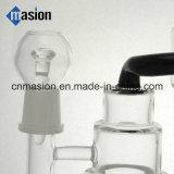 Conduite d'eau en verre de Perc de peigne de miel (BY001)