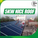 электрическая система связи решетки 5kw солнечная для дома