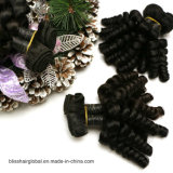 100% Natural Hair Weaving Virgin Remy Cabelo humano peruano
