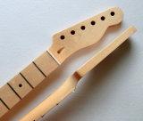 Collet télé- de guitare d'érable de nature de frette canadienne de la couleur 22