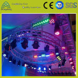 Screw Lighting Alumínio Square Performance Festa de casamento Fase redonda Big Circle Bolt Truss
