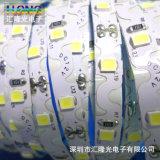 Tira de 2835 LED con la etiqueta engomada conductora del calor azul 60LED