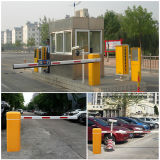 まっすぐな駐車システム自動障壁