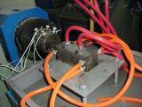 Perfil à prova de fogo personalizado do indicador e da porta do PVC do projeto que faz a máquina