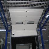 Porte supplémentaire industrielle d'industrie de porte sectionnelle sans risque automatique de garage