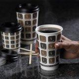 20oz 처분할 수 있는 인쇄된 서류상 최신 음료 컵