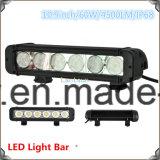 Serie caliente 8 de la barra ligera de la venta 60W 10.9inch LED