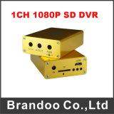 1080P Suporte DVR 1 Canal 128 GB do cartão SD