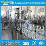 Enchimento de engarrafamento de água mineral puro embaladora