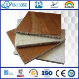 L'aluminium Honeycomb Core Pierre panneau alvéolé