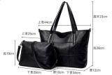 Sacs à main à la mode en deux pièces Couleur Simple dames sac à main (BDMC de PU161)
