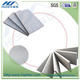 Interior de la pared de fibra de celulosa cemento placa de pared de la hoja