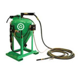 Staubfreier startender Sand-Bläser dB1500 für Rostbeseitigung