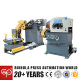 مغذّ آليّة مع [دكيلر] ومقوّم انسياب يستعمل في صحافة آلة