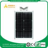 15WヤードランプLEDの太陽電池パネルが付いている太陽街灯