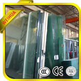 Limpar o vidro temperado curvo dobrados para o projecto de construção
