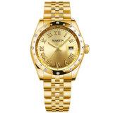 Goldschmucksache-Diamant-Uhr-Quarz der Form-Dame-Uhr mit Dattel-Dame-Geburtstag-Geschenk-Uhr (2006-V5)