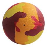 تمويه ساطع لون مطاط كرة