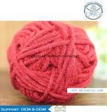 Form-Feder-Schal-Garn-Hersteller-Versicherungs-Polyester 100% ausübte Garn-Verkauf