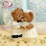 Симпатичная свечка подарка плюшевого медвежонка для любовников Wedding комплект подарка свечки искусствоа свечки